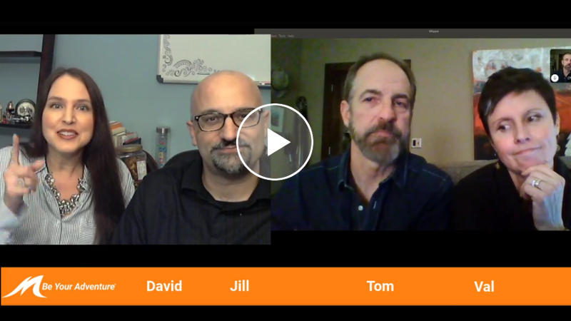BYA Live #3: Tom, Val, David, & Jill - February 6, 2019